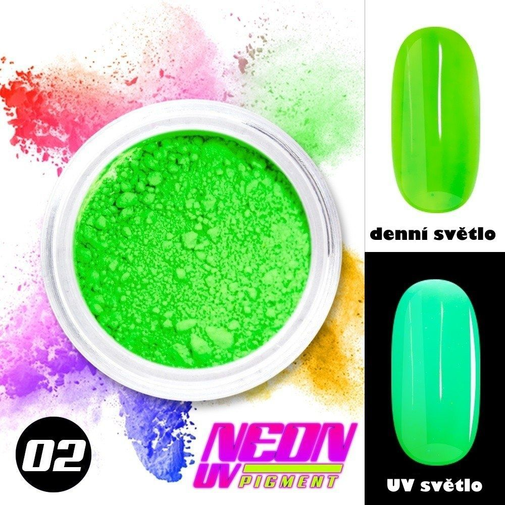 NEON UV pigment - neonový pigment v prášku 02
