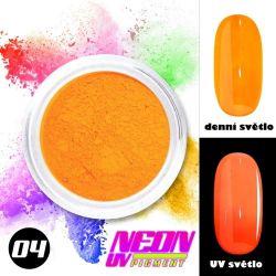NEON UV pigment - neonový pigment v prášku 04 (A)