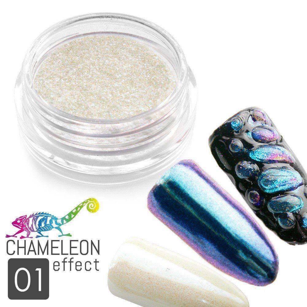 Pyl na nehty - CHAMELEON efekt 01