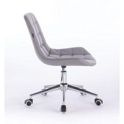 Židle na kolečkách HR590K šedá