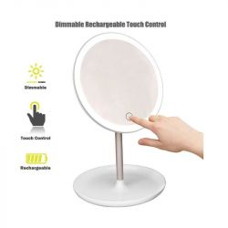 Kosmetické zrcátko s LED 3W - elektrické i s baterií (A)