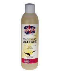 Kosmetický aceton, odstraňovač gelu 1000ml - vanilka