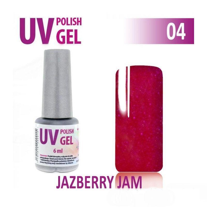 04.UV gel hybridní - malinový