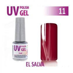 11.UV gel lak na nehty hybridní EL SALVA 6ml (A)