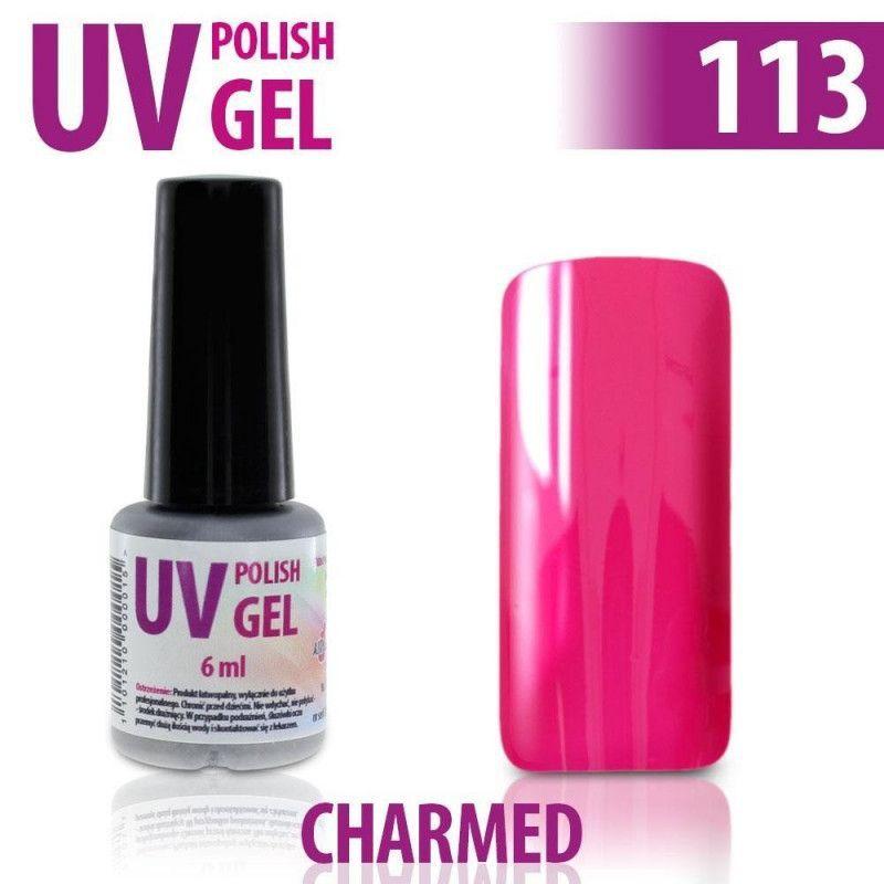 113.UV gel lak na nehty hybridní CHARMED 6 ml