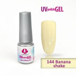 144.Uv gel lak Banana shake 6 ml (A)