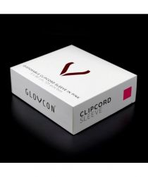 Kabelová fólie GLOVCON®  růžová - 5 X 80 cm / 125 ks /