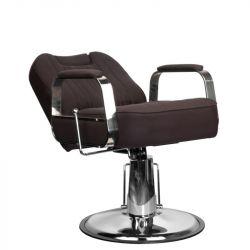 GABBIANO Barbers křeslo RUFO hnědé