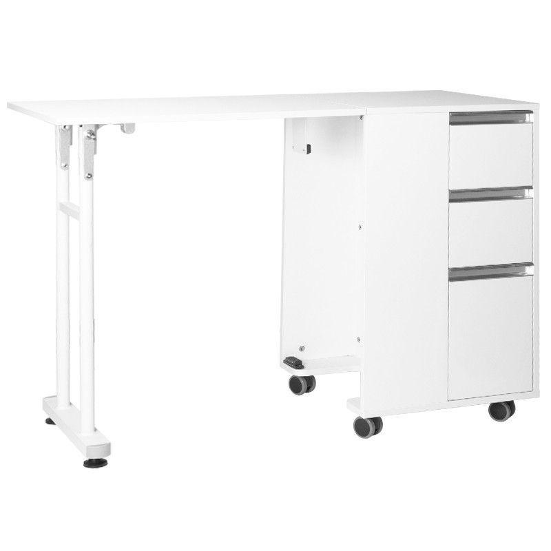 Skládací stolek 2038 bílý