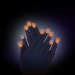 Svítící prášek na nehty č. 6