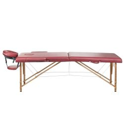Masážní a rehabilitační skládací stůl BS-523 - bordó