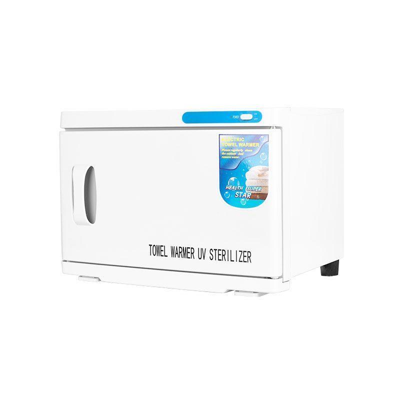 Ohřívač ručníků s UV- C sterilizátorem 16 l - bílý